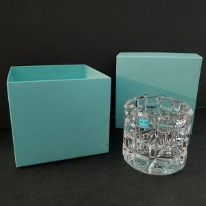 Tiffany & Co. Crystal Votive Candle Holder